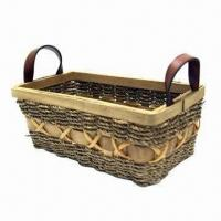 Wooden Basket, Various Sizes, Shapes and Colors are Available, Can Be Used for Gifts Manufactures