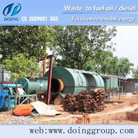 Cheap 2013 hot sell oil production of tires/plastic recycling machine for sale