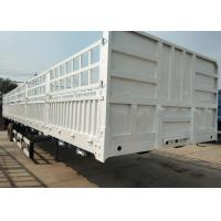 Carbon Steel Utility Semi Trailers 30-60 Tons For Special Goods Transportation Manufactures