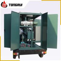 Vacuum Transformer Oil Purifier 30L/min Double Stage ZJA Easy Handling Manufactures