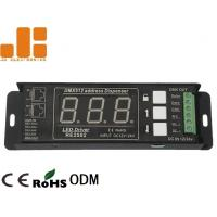 Single Channel DMX Signal Splitter With Digital Display Address Mode DC12V - 24V Manufactures