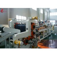 Cheap 720 mm width Five Rollers PVC Calender Machine With PLC control touch screen for sale