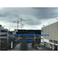 Buy cheap TC6520 External Topkit Tower Crane 65m Jib Specs 2*3m Split Mast Section from wholesalers