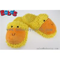 Lady Shoes Plush Stuffed Closed Teo Indoor Slipper in Cartoon Duck Head Manufactures