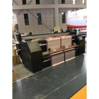 Buy cheap CMYK Automatic Digital Flag Sublimation Printing Machine With Epson DX5 Head from wholesalers