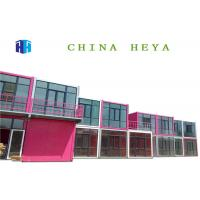Hotel Use Luxury Double Storey Prefab Houses Prebuilt Container Home Strong Frame Manufactures