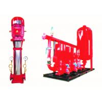 VFD Fire Fighting Pump Vertical Multistage Commercial Building Supply Manufactures