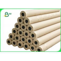 Wide Format 70gsm CAD Plotter Paper Roll Customized Size For Garment Drawing Manufactures
