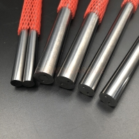 Double Coolant Holes of Tungsten Carbide Rod Round Rods Tungsten Carbide Bar Manufactures