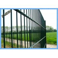 Twin 868 Standard Double Welded Wire Fence Panels Square Hole Electro Galvanized Manufactures