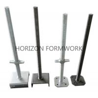Adjustable Screw Jack Head For Ringlock Scaffolding System Dia 48mm x 5mm Manufactures