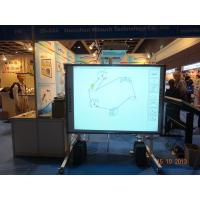 "Interactive Teaching System 4 Points Touch Interactive Whiteboard 82"" Manufactures"
