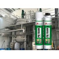 OEM High Density Polyurethane Foam , Home Spray Foam With One Component Manufactures