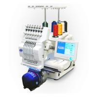 Commercial Single Head Computer Embroidery Machine For Cap / T - Shirt / Flat Embroidery Manufactures