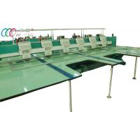 Big Size 6 Head Flat Embroidery Machine Equipment For Samples Manufactures