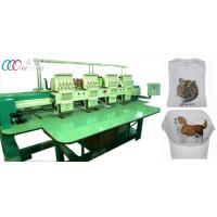 "5"" LCD Screen T-Shirt / bag Multi-Head Embroidery Machine With Servo Motor Manufactures"