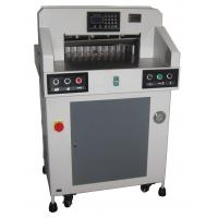 Hydraulic Programmable Paper Cutting Machine 490mm With Digital Display Manufactures