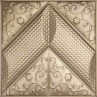Cheap Polyurethane Decorative Wall Panel , 3 Dimensional Wall Panels For Interior Decoration for sale