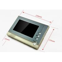 CK-80 wireless door bell for restaurant 7 inch color TFT- LCD screen intercom system with doorbell Manufactures
