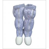 Light ESD Safety Shoes Anti Static Grid Fabric Booties For Electronic  Industry Manufactures