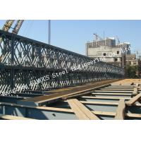 Quality Modern Style Prefabricated Modular Bailey Suspension Bridge Galvanized Surface for sale