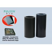 High Impact Polystyrene HIPS Sheet Roll , Thin Clear Black Plastic Sheets Manufactures