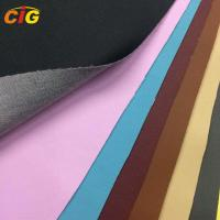 Colorful 0.8-1.2mm Thickness Synthetic Pu Leather Car Seat Cover Manufactures