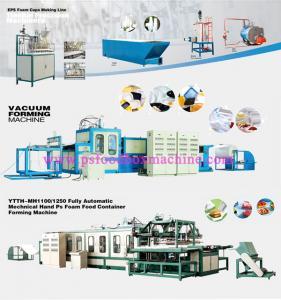 One Time GPPS Foam Fast Food Box Making Machine Manufactures