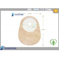 Nonwoven Closed Opaque Color One Piece Colostomy Bag For Medical Use Manufactures