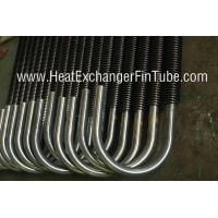 U Bent Welded Spiral Evaporator Tube , SA210 Gr. C SMLS Carbon Steel Tube Manufactures