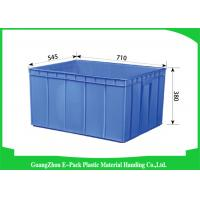 Recycle Industrial Plastic Containers , Standard Euro Stacking Boxes Eco-Friendly Manufactures