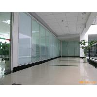 China Acoustic Insulation Office Glass Partition Systems , Glass Bathroom Partition Walls on sale