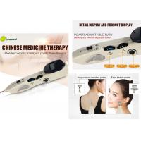 Quality Low Frequency Electronic Acupuncture Pen With 3 Replaceable Probes 1-10 Intensity for sale