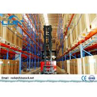 Heavy Duty metal Industrial Storage Rack For Warehouse / factory Manufactures