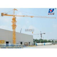 Cheap QTZ230 Power Cable Tower Crane Cat Head Top Slewing Type 65m Boom for sale
