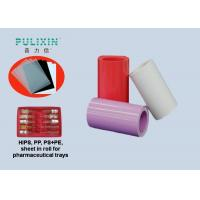 Heat Moldable 0.6mm Thick Polystyrene Plastic Sheet Polypropylene Film Roll Manufactures