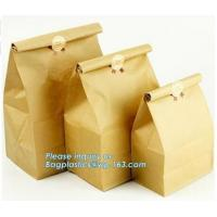 promotion gift bag bagease kraft paper bag fast food paper bag,take away fast food grade brown bread low cost paper ba Manufactures