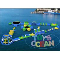 Ultimate Huge Inflatable Water Park For Lake Floating Customized