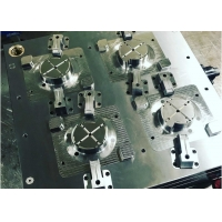HASCO Standard 4 Cavity 1.2344ESR Plastic Auto Parts Mould Manufactures