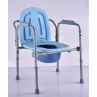 Folding Design Potty Chair Commodes Gray Color Material Copper Pipe Frame Manufactures