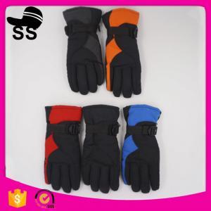 On stock factory nylon taslon racing printing sport waterproof ski gloves Nylon 30*12cm 135g Manufactures