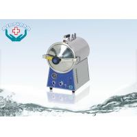 SS304 Table Top Autoclave Steam Sterilizer With Electric Heated Manufactures
