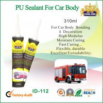 Cheap Heat Resistant Gun Grade Polyurethane Sealant For Car Body Adhesive Bonding for sale