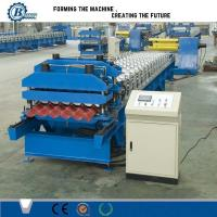 Quality High Speed Metal Steel Step Roof Tile Roll Forming Machine For Wall Panels for sale