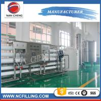 Large Scales Water Treatment Systems Filling Line Mineral Water Purification Manufactures