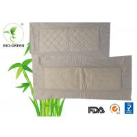 Thin Bamboo Liners For Cloth Diapers , Square Bamboo Charcoal Nappies Manufactures
