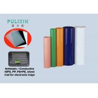Colored Translucent 0.9mm Thermoforming Plastic Sheet Polypropylene Film Roll Manufactures