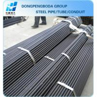 black steel Scaffolding pipe Tube 48.3 X1.8mm export import China supplier made in China Manufactures