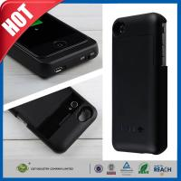 China Black Cellular Phone External Backup Battery Charger Case 3200mah For iphone 4 4G 4S on sale