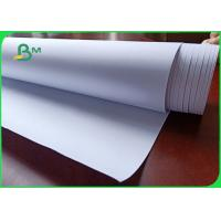 Buy cheap 80gsm FSC approved Smooth and not easy to deform CAD plotter paper in roll from wholesalers